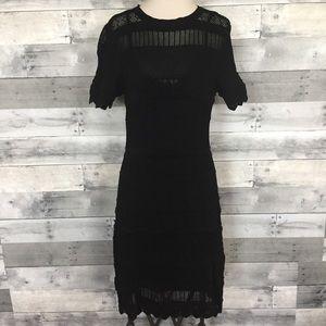 Alexis Stretch Knit Sheath Dress